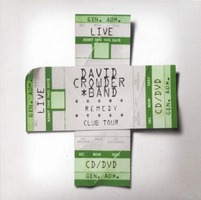 DAVID CROWDER BAND - Remedy Culb Tour (CD+DVD)