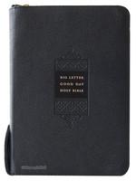 큰글자 굿데이 성경전서 대 합본(색인/천연양피/지퍼/검정/NKR72EWB)