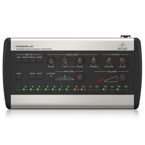 베링거 P16-M 디지털 퍼스널 믹서