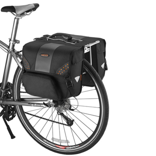 아이베라 IB-BA16 자전거 출근 및 자전거 여행용 대용량 28L 가방 패니어