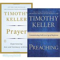 팀 켈러 원서 2종 세트: Prayer HB(9780525954149)   Preaching(9780525953036)