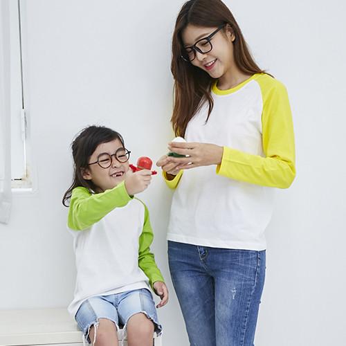 마이제이디_무지 나그랑 티셔츠 긴팔(5색)