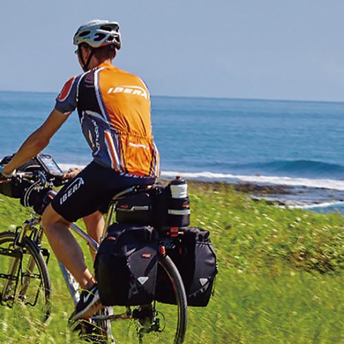 자전거 출퇴근 가방 및 자전거 여행용 캐리어 랙 세트