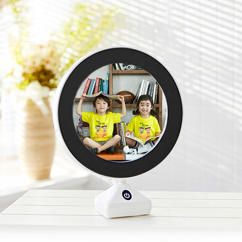 마이제이디-LED 포토액자 거울(무드등 겸용기능)