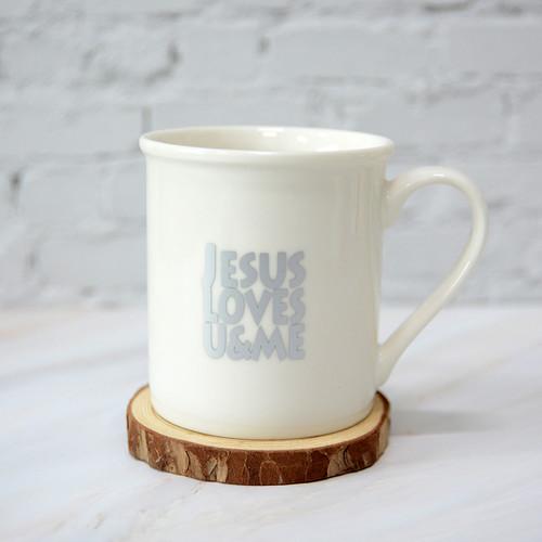 유앤미머그컵(JESUS LOVES U&ME)