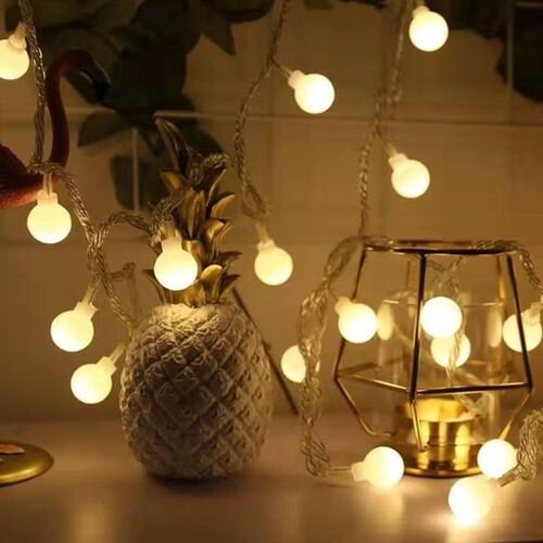 쿨앳홈 캠핑 감성 LED 미니 알전구 가랜드 공간조명