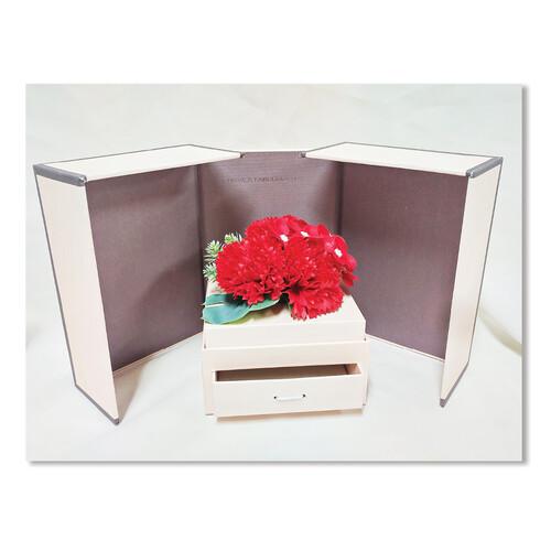 홀마크 카네이션 비누꽃 선물박스-레드꽃