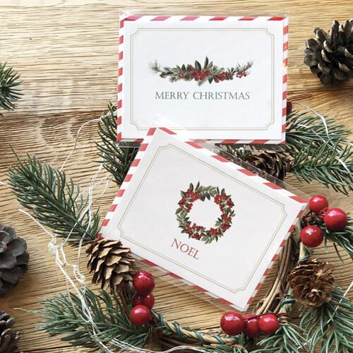 보타닉 크리스마스카드
