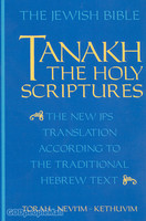 JPS Tanakh the Holy Scriptures (Paperback)