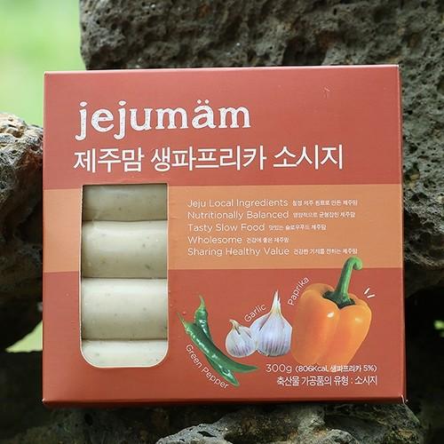 제주맘 파프리카 소시지300g(60g*5개)