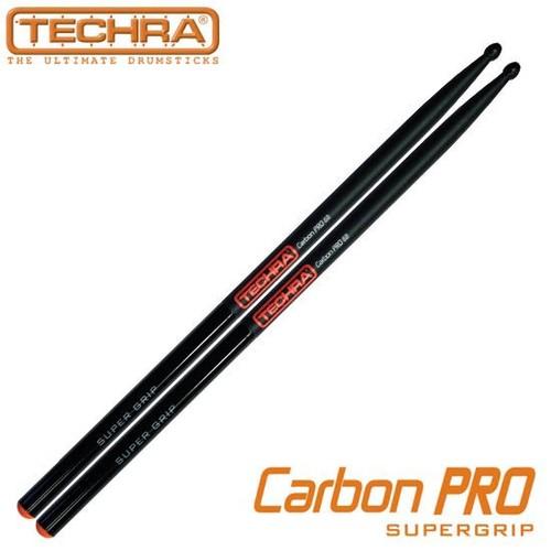 테크라  슈퍼그립 카본 스틱 - Pairs CARBON PRO Super Grip Sticks