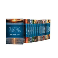 Swindolls Living Insights : New Testament Commentary Complete 16 Vols. (Hardcover/양장본)