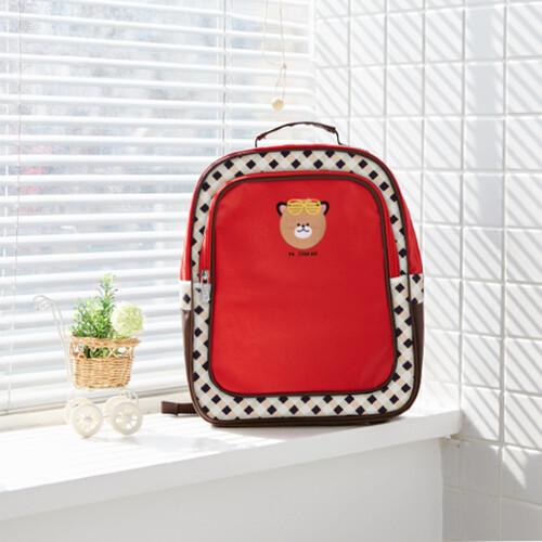 [출시특가]어린이집 가방 유아 유치부 가방 -JD베어B_3391(빨강색)