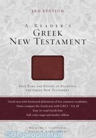 A Readers Greek New Testament 3rd Ed (Burgundy, Imitation Leather)