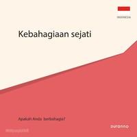 최고의 행복(전도지) - 인도네시아어 10개 세트