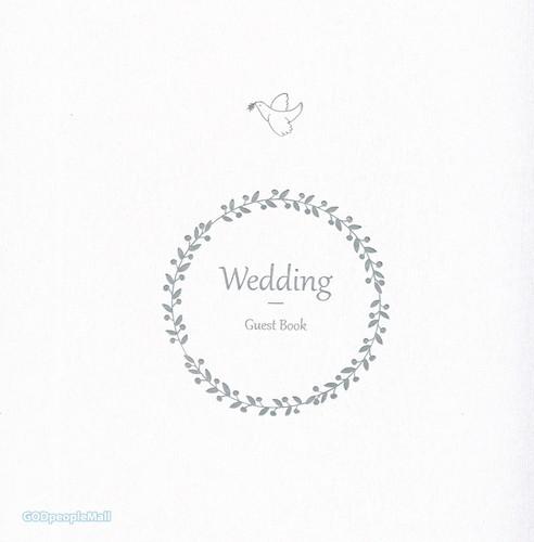 웨딩방명록 사각 (Wedding Guest Book)
