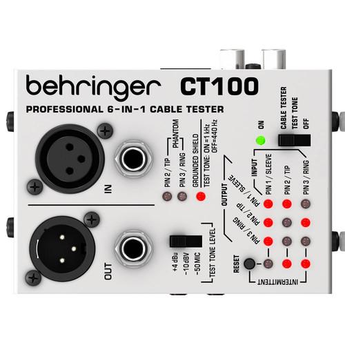 베링거 CT100 케이블 테스터기