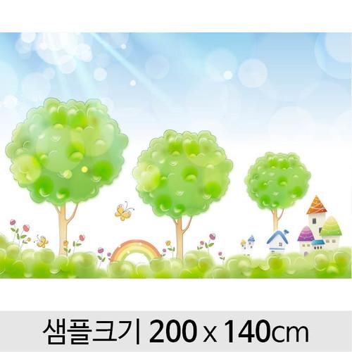 봄배경현수막(벚꽃)-099 ( 200 x 140 )