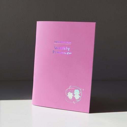 그레이스벨 헬로든든 위클리 플래너(6개월) 01.퍼플