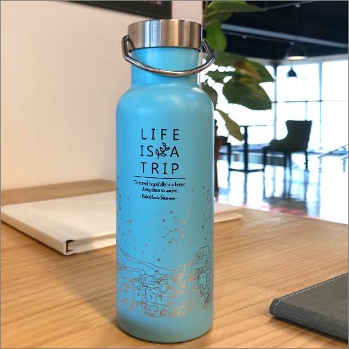 제이씨핸즈 인생은여행 텀블러 [민트] 보틀 BPA Free