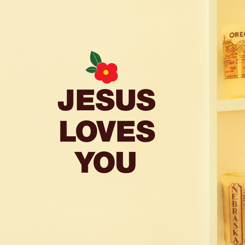 [말씀스티커]JESUS LOVES YOU-II