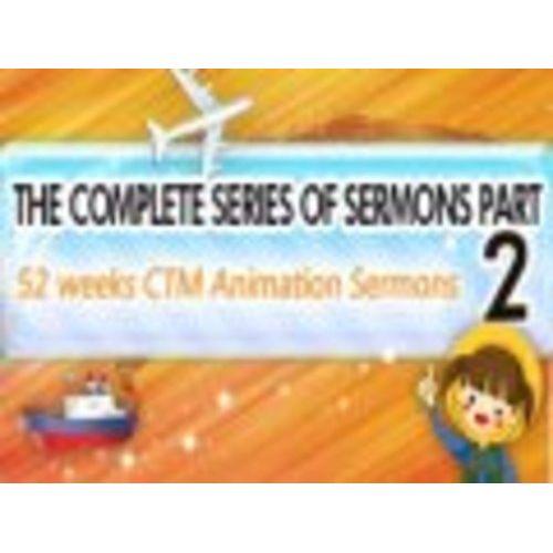 52주 CTM  애니메이션 영어설교 전집2