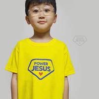 갓피플 반팔 티셔츠 -  말씀파워 예수님 (아동용)