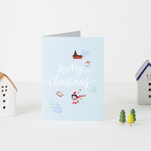 그레이스벨 크리스마스 카드 02.썰매든든