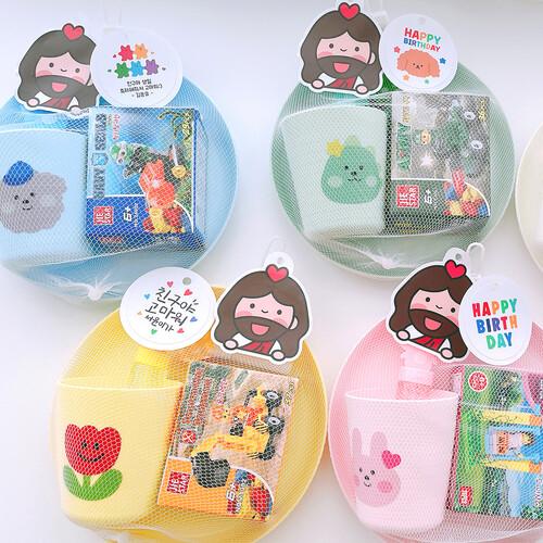 어린이집 생일 답례품 교회 선물 영어 유치원 선물 생일선물 답례품 구디백 레고 장난감 세트