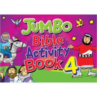 Jumbo Bible Activity Book 4 (PB)