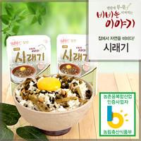정선사북중앙교회 윤영근 집사의 비빔나물 (시래기)