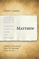 EGGNT: Matthew (Exegetical Guide to the Greek New Testament) (PB)