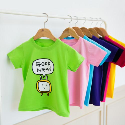 [블레슈 티셔츠] 굿뉴스 복음티 - 라임그린