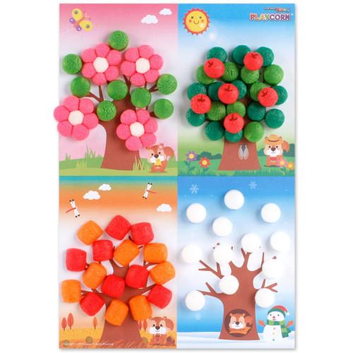 플레이콘사계절나무꾸미기(5인용)