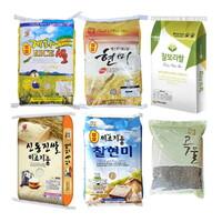 광주열린교회 김애녹 형제의 백미, 현미, 찹쌀 (10kg, 20kg)