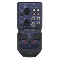 ZOOM U-44 핸디 오디오 인터페이스