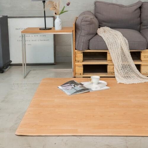 PVC 양면 바닥 매트 - 양면우드