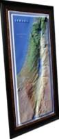 이스라엘 지도 ( 평면지도 or 입체모형지도 大택1)