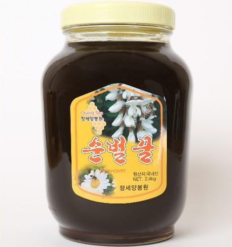 성도교회 장성범 집사의 감로꿀 (2.4kg)