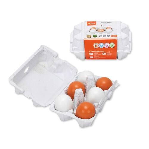 VIGA 모형 계란 6Pcs