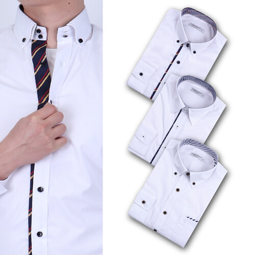 남자 셔츠 추천 버튼다운카라 빅사이즈 베이직셔츠