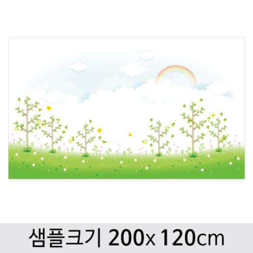 봄배경현수막-148 ( 200 x 120 )
