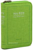 Holy Bible 개역한글판 성경전서 미니 단본(색인/이태리신소재/지퍼/그린/42HC)