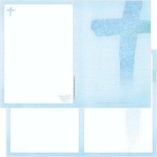 십자가주보 A4(4면/양면) A4103