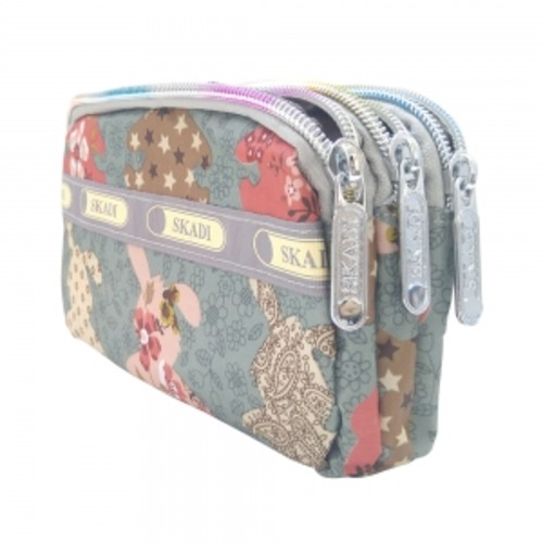 지퍼 파우치(통장지갑,여권,화장품)