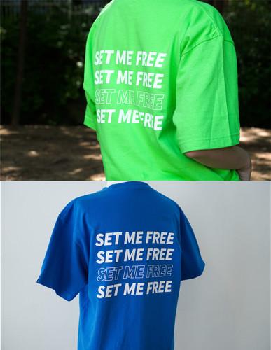 RE:stoRE SET ME FREE T-shirts