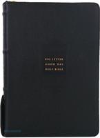 큰글자 굿데이 성경전서 대 합본(색인/천연우피/지퍼/검정/NKR72EWB)