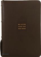 큰글자 굿데이 성경전서 대 합본(색인/천연우피/지퍼/다크브라운/NKR72EWB)