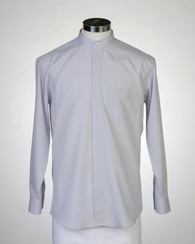 목회자셔츠-차이나카라셔츠 회색