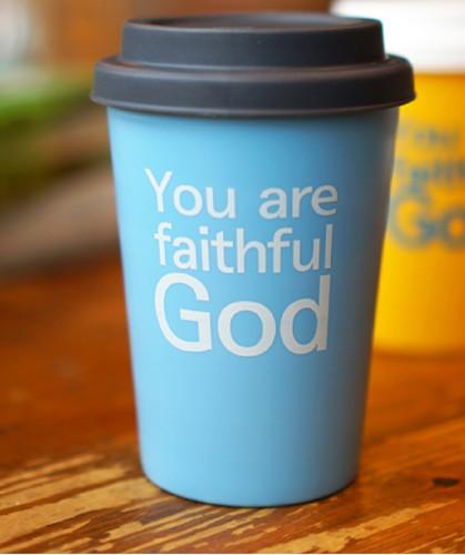 <갓월드> Faithful God 블루 _ 라이트 텀블러